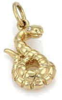 Tiffany & Co. Paloma Picasso 18K Yellow Gold Diamond Chinese Zodiac Snake Pendant