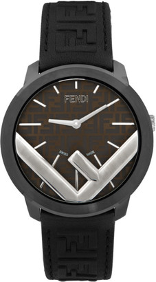 Fendi Black and Brown Run Away F is Watch