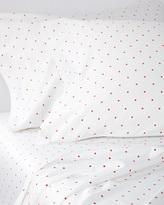 Serena & Lily Pin Dot Sheet Set - Coral