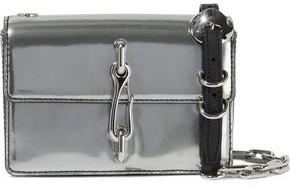 Alexander Wang Hook Mirrored-leather Shoulder Bag