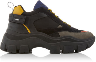 Prada Vertical Nylon Sneaker