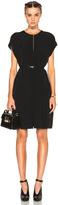 Lanvin Split Ruffle Mini Dress