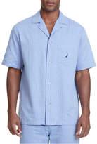 Nautica Captains Herringbone Woven Pajama Top