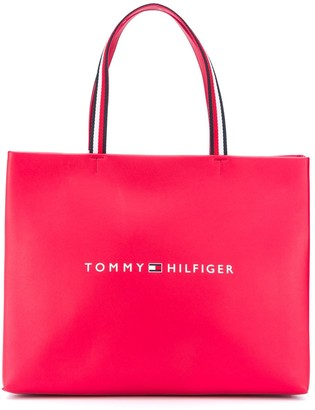 Tommy Hilfiger Logo-Print Tote Bag