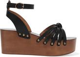 Etoile Isabel Marant Zia leather platform sandals