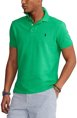 Polo Ralph Lauren Big & Tall Big Tall Basic Mesh Short Sleeve Classic Fit Polo (Branford Purple) Men's Coat