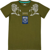 Armani Junior Eagle Motif Cotton T-shirt