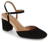 Calvin Klein Ciley Ankle Strap Pump