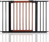 Babydan Avantgarde Baby Safety Stair Gate Cherry Wood and Black All Widths (103.2cm-110.6cm) by