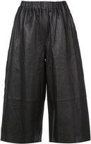 Robert Rodriguez wide leg culottes - women - Leather - XS