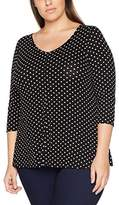 Evans Women's Spot Blouse