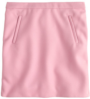 J.Crew Zip-pocket mini skirt