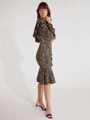 Caballero Notting Hill One Shoulder Midi Dress