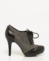 Le Château Tweed Platform Oxford Pump