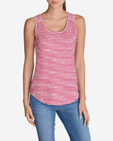 Eddie Bauer Women's Essential Slub Tank Top - Stripe