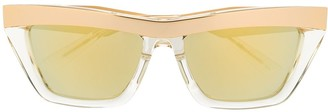 Bottega Veneta D-frame sunglasses