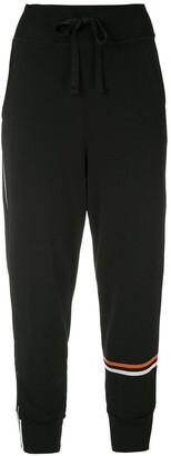 OSKLEN Stripe Detailing Cropped Track Pants