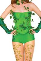 Rubie's Costume Co Costume Women's DC Comics Poison Ivy Deluxe Corset with Ivy Leaves