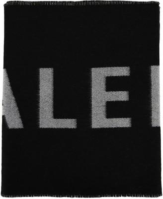 Balenciaga Macro Logo Scarf