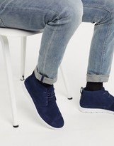 UGG freamon leather desert boots in navy