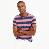 J.Crew Wallace & Barnes T-shirt in indigo stripe