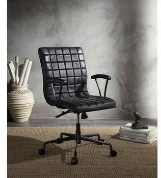 mondawe Barack Office Genuine Leather Task Chair