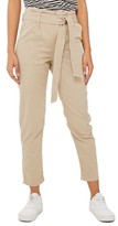 Topshop Women's Paperbag Peg Trousers