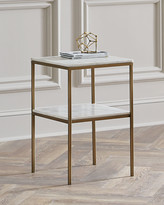 Isaac Marble Side Table