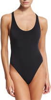Milly Marini Solid Racerback One-Piece Swimsuit