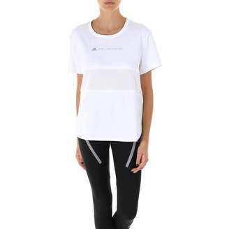 adidas by Stella McCartney Layered Logo Printed T-Shirt