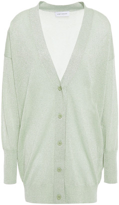 Ninety Percent Metallic Knitted Cardigan