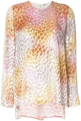 ADAM by Adam Lippes sheer patterned blouse