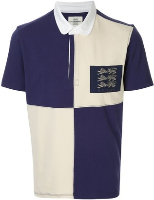 Kent & Curwen flag polo shirt