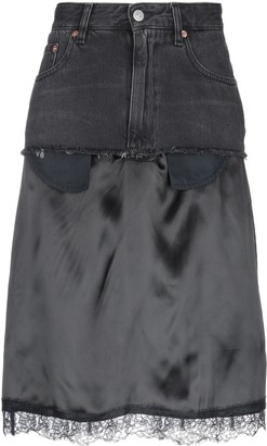 MM6 MAISON MARGIELA Denim skirts