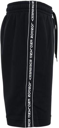 Burberry Logo Band Cotton Jersey Sweat Shorts