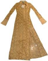 Awake Yellow Lace Dresses