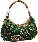 MNBS Ladies Fashion Classy Elegant Handmade Beads Embroidery Handbag Clutch Bags Party Wedding Prom