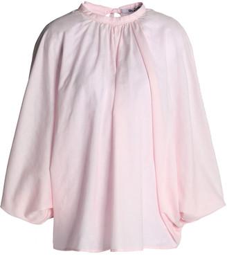 Chalayan Gathered Cotton-gauze Blouse
