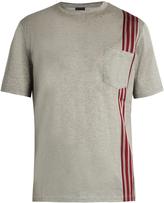 Lanvin Ribbon-appliqué cotton-jersey T-shirt