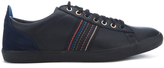 Ps By Paul Smith Osmo Leather Trainers Black Mono Lux