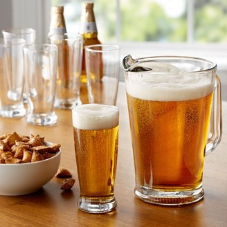 Tailgate Mainstays 7-Piece Glass Pitcher and Drinkware Set