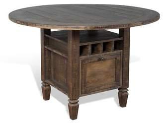 Gracie Oaks Calina Solid Wood Dining Table Gracie Oaks