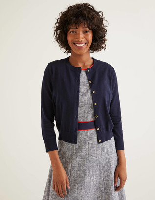 Eldon Cotton Crop Cardigan