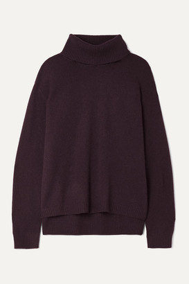 ATM Anthony Thomas Melillo Cashmere Turtleneck Sweater - Burgundy