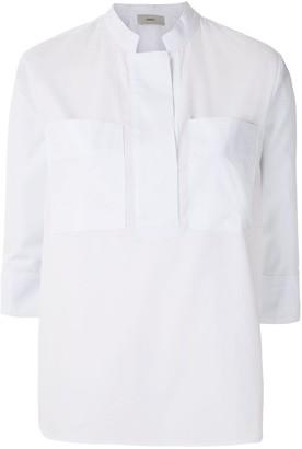Egrey Camisa Bolsos Tricoline