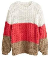 Mango MANGO Knit striped sweater