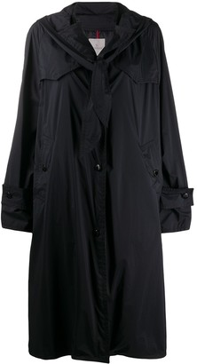 Moncler Vanille oversized padded trench