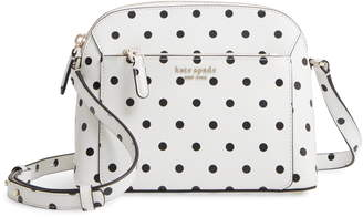 Kate Spade Medium Louise Cabana Dot Dome Crossbody Bag
