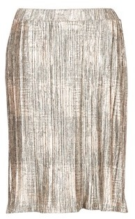 Cream GLORY SKIRT women's Skirt in Silver