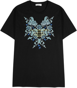 Givenchy Stuido Homme black printed cotton T-shirt